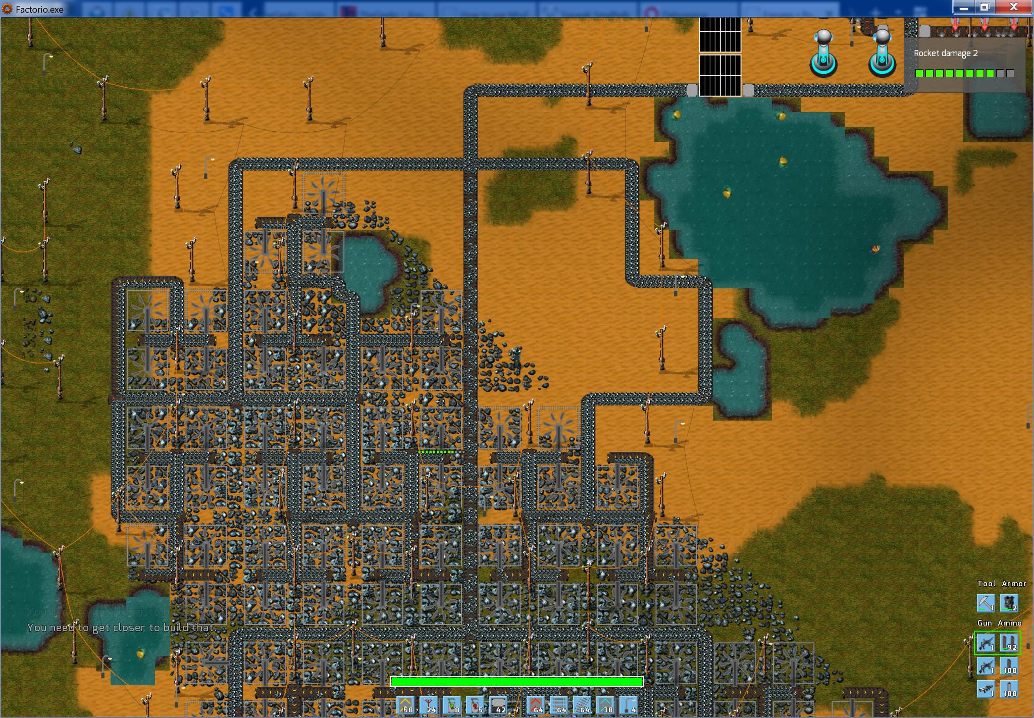 Factorio mining speed